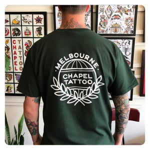 Image of 2017 LOGO Chapel Tattoo Tee