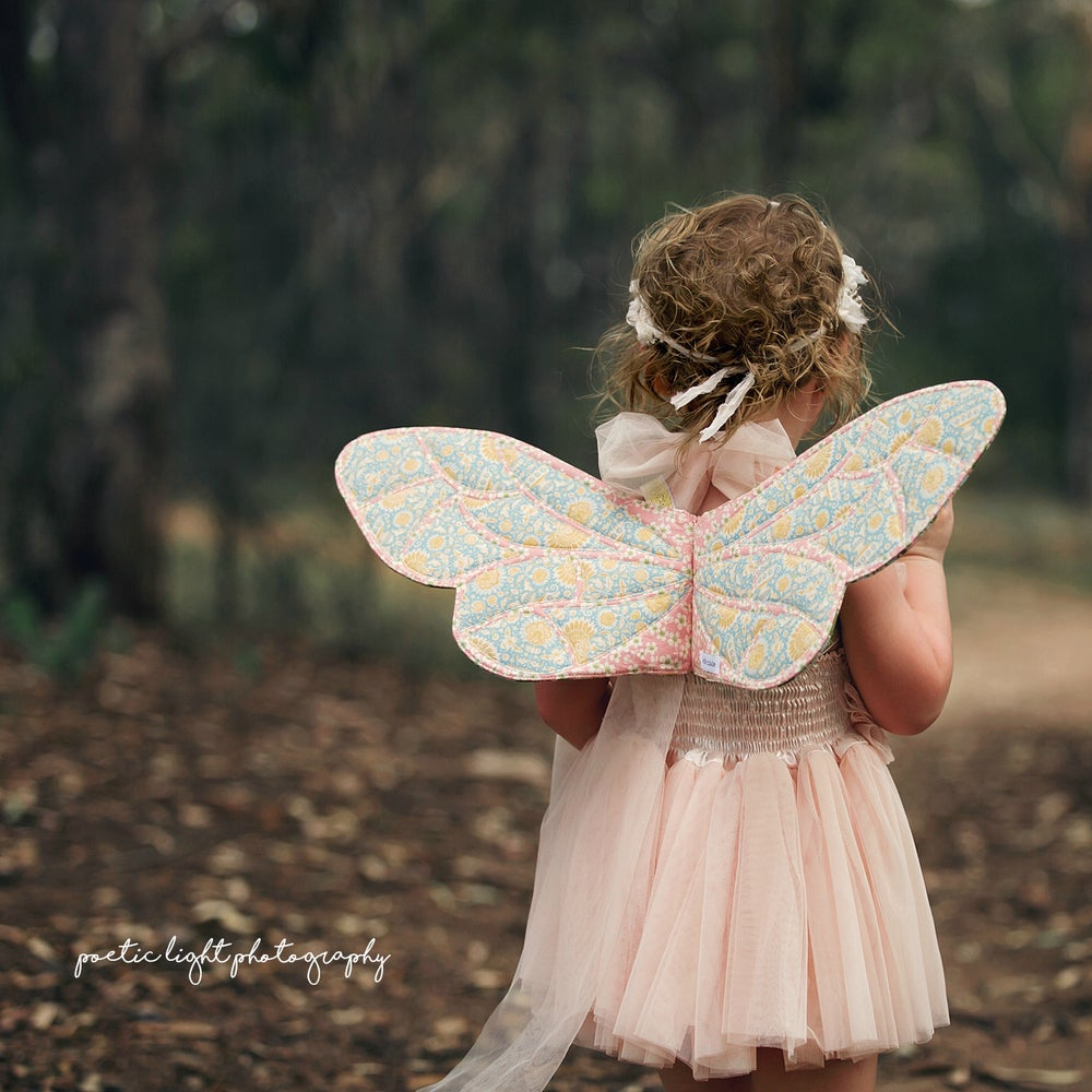 Image of Wife-made Bumblebee Wings Pattern Add-on (PDF DOWNLOAD)