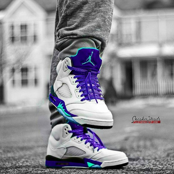 Image of Exclusive Grapes LE Custom Shoe Laces