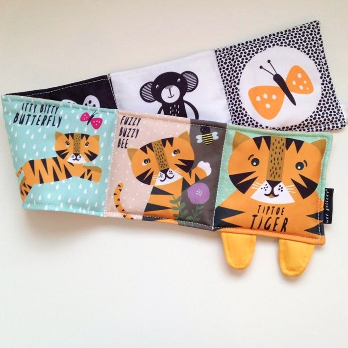 Image of Tiptoe Tiger Baby's First Soft Book