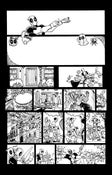 """Image of ORIGINAL ART--DEADPOOL in Gwenpool Holiday Special: Merry Mix Up """"Deadpooloween"""" Page 03"""