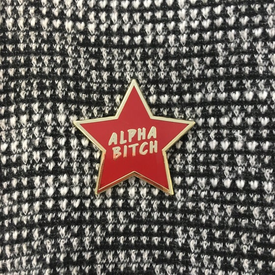 Image of Alpha Bitch pin