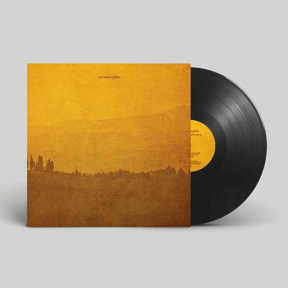 "Image of Cornucopia 'Pursuit Of The Orange Butterfly' EP 12"" Vinyl"