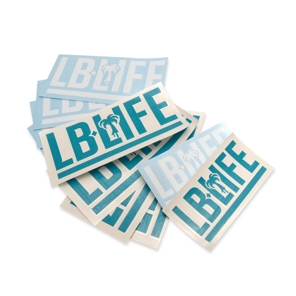 Image of LBLIFE VINYL STICKERS