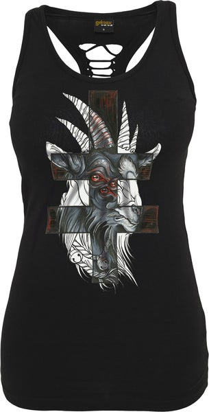 Image of GOAT CUTTED BACK TANK TOP