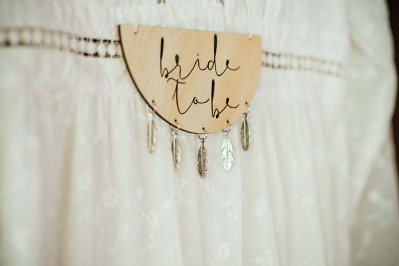 Image of BOHO BRIDAL/MUMMY TO BE NECKLACE PLAQUE