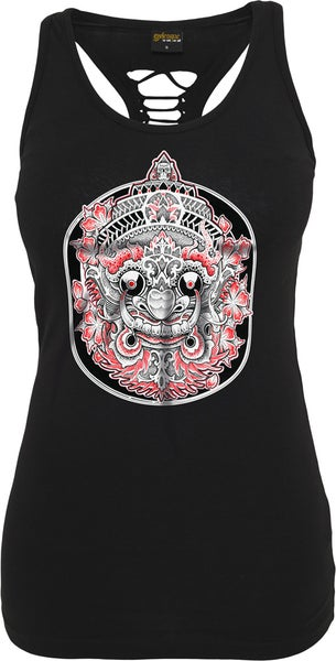 Image of ABENDLAND CUTTED BACK TANK TOP
