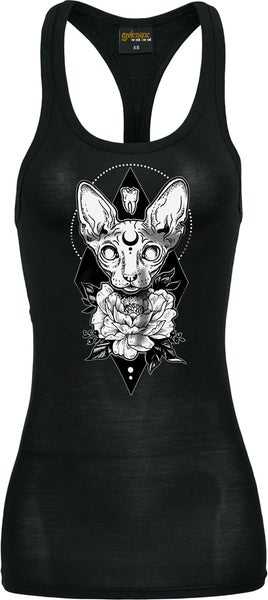 Image of MINERVA FITTED RACERBACK TANK