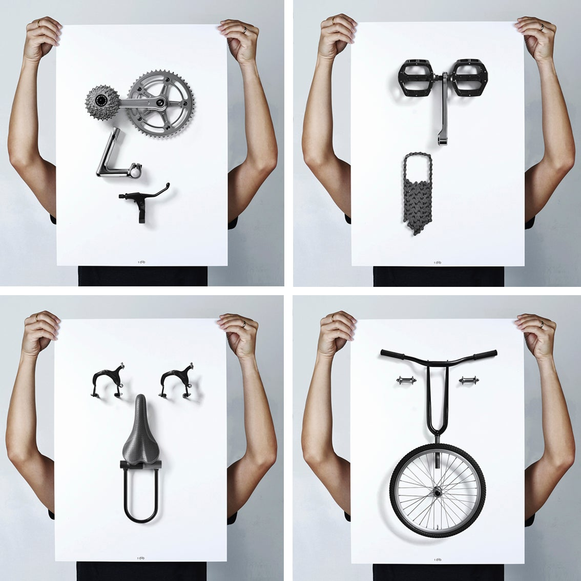 Image of Bikemoji Series