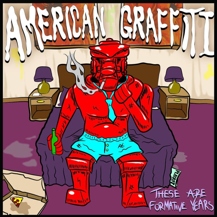 Image of American Graffiti - These Are Formative Years (EP)
