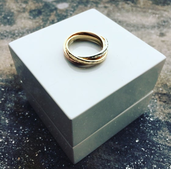 Image of 9ct Gold Russian Ring