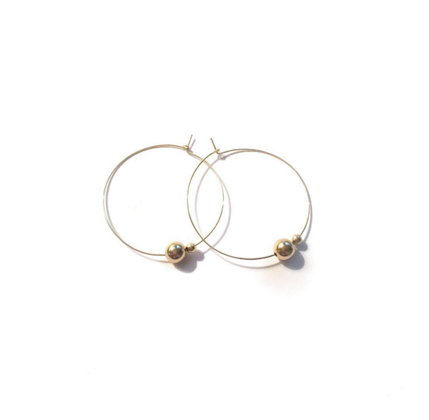 Image of Boucles bianca 45€ - 20%