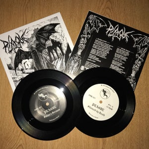 "Image of Plague<br>""Silenced by Death"" 7"" Single"