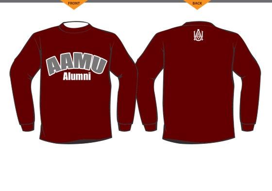 Image of Crewneck AAMU Alumni Sweatshirt