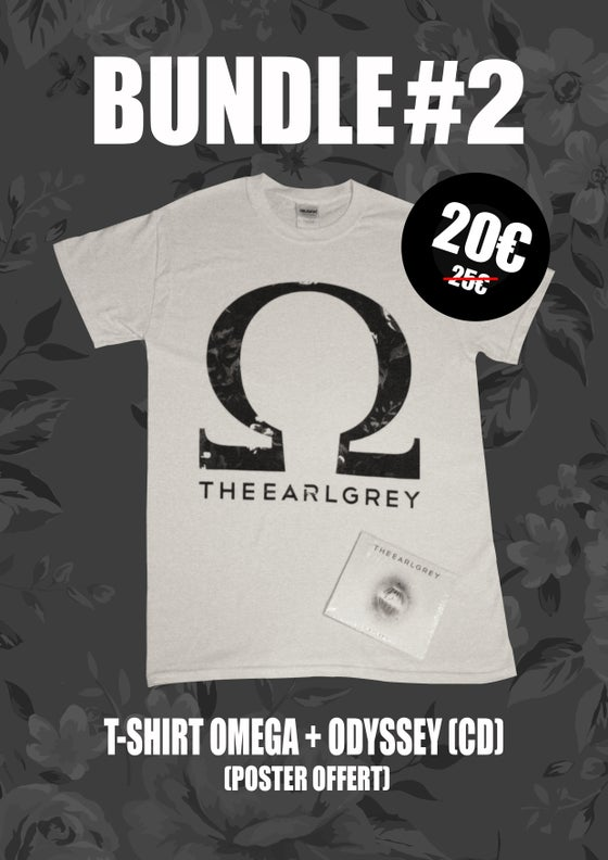 Image of BUNDLE #2 : OMEGA T-SHIRT + ODYSSEY (CD) (+ FREE POSTER)