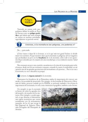 Image of Prevención de riesgos para colectivos en montaña