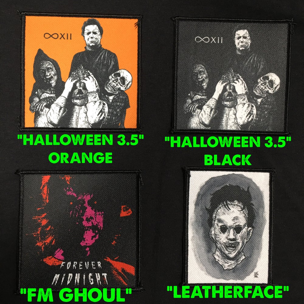 Image of ASSORTED PATCHES 3