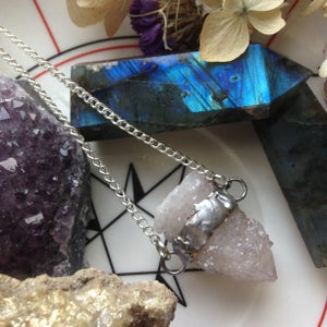 Image of Lilac Spirit Quartz Necklace