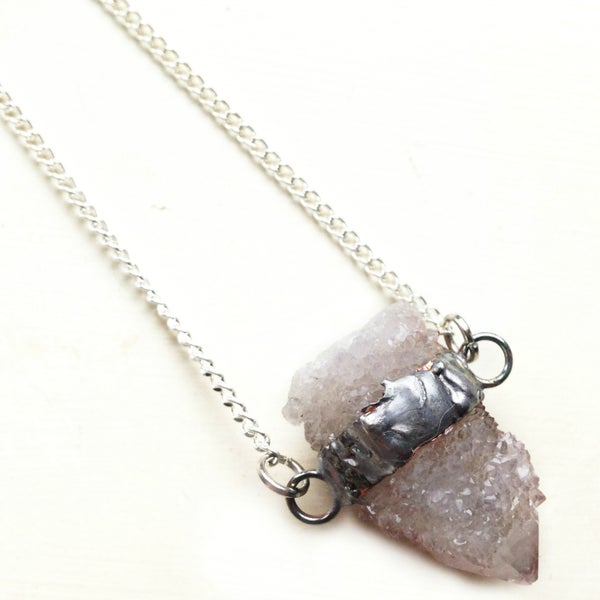 Image of Lilac Spirit Quartz Necklace
