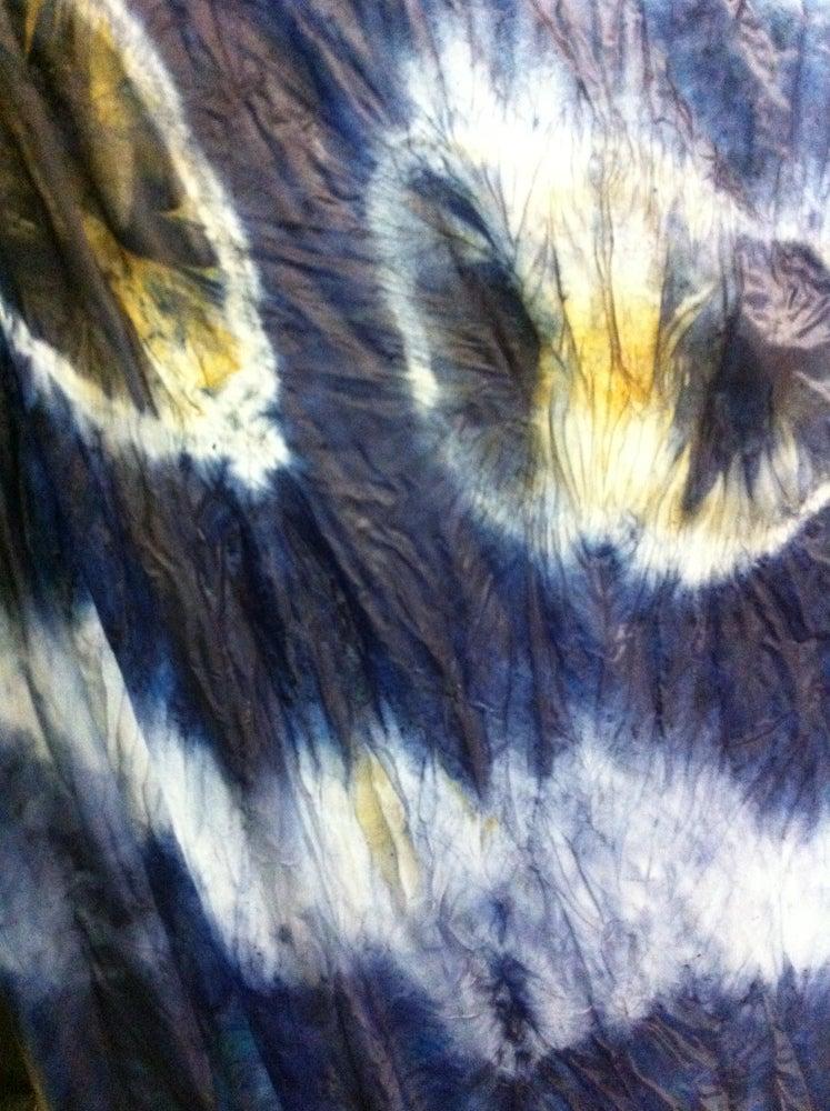 Image of Walnut & Woad parachute silk scarf