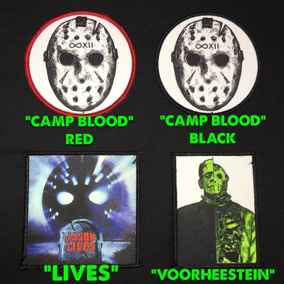 Image of FRIDAY THE 13TH PATCHES