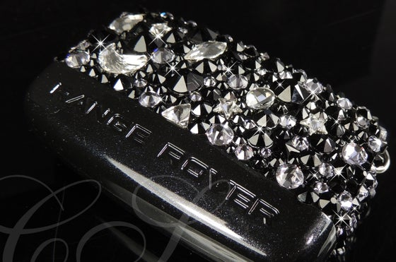 Image of Range/Land Rover Key Cover with Crystals by Swarovski®