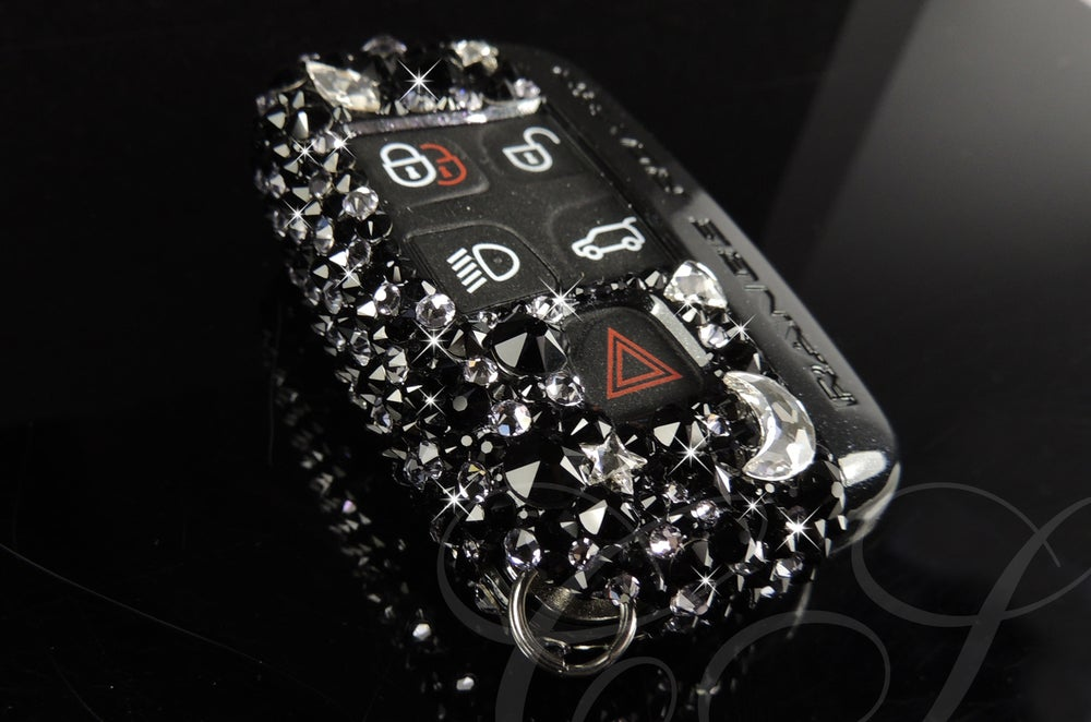 Image of Range Rover Evoque Key Cover with Crystals by Swarovski®