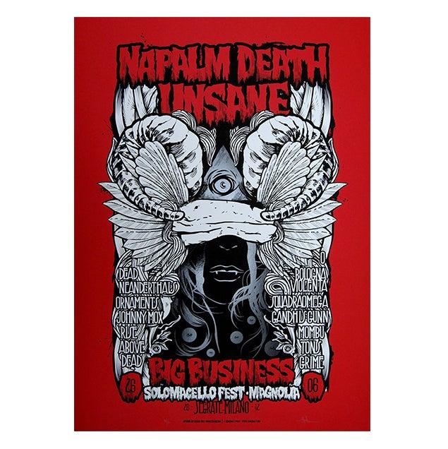 Image of SOLOMACELLO FEST W/ NAPALM DEATH - UNSANE