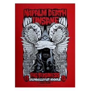 Image of SOLOMACELLO FEST W/ NAPALM DEATH - UNSANE