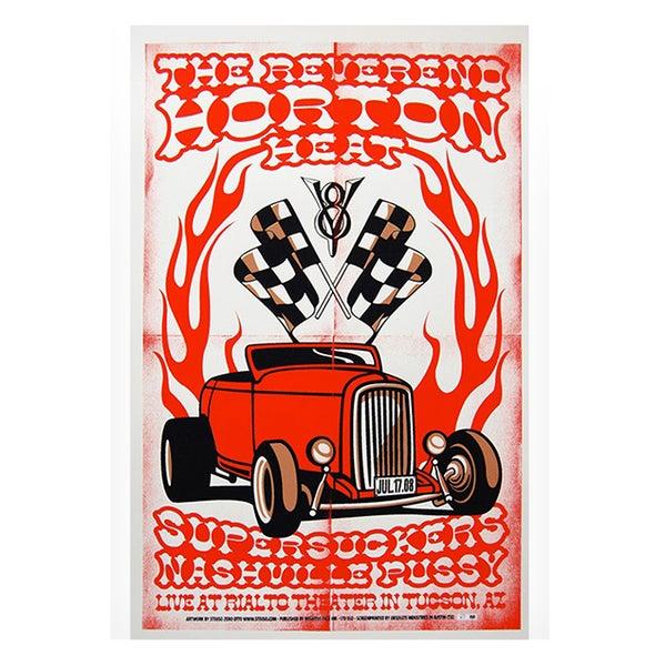 Image of REV. HORTON HEAT w/ SUPERSUCKERS & NASHVILLE PUSSY - Tucson (AZ) USA 2008