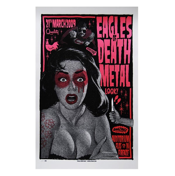 Image of EAGLES OF DEATH METAL - Firenze 2009