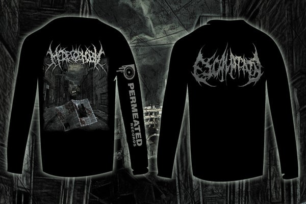 Image of MEDECOPHOBIC - ESCALATION Longsleeve