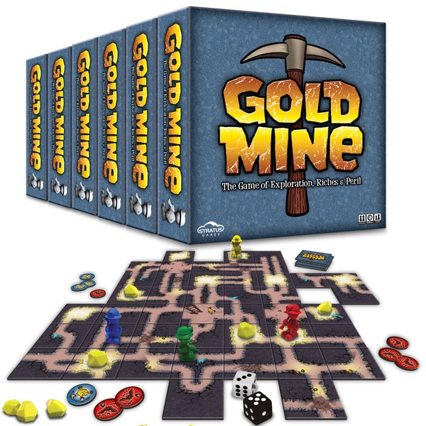 Image of Gold Mine - Case of 6 Games