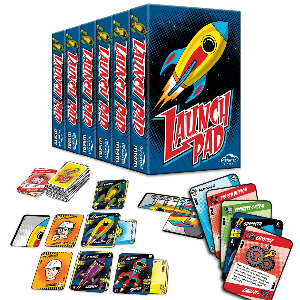 Image of Launch Pad - Case of 6 Games
