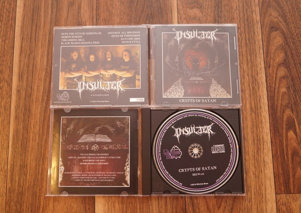 Image of Crypts Of Satan CD