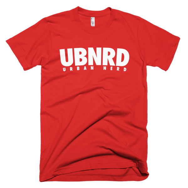 Image of Urban Nerd ™ #UBNRD HASHTAG TEE (RED)