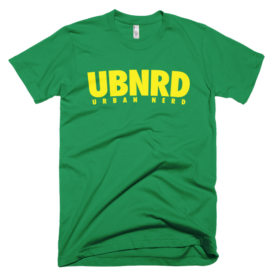 Image of Urban Nerd ™ #UBNRD HASHTAG TEE (GREEN)