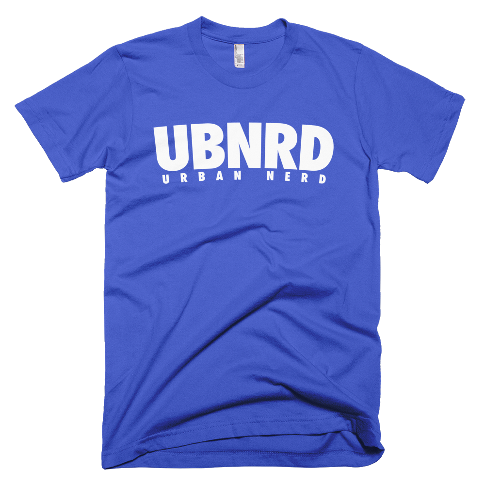 Image of Urban Nerd ™ #UBNRD HASHTAG TEE (ROYAL)