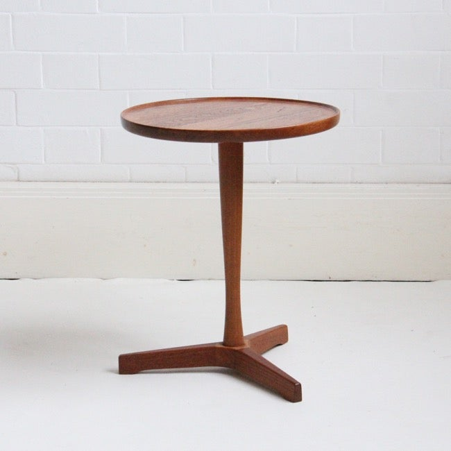 Image of Danish side table / wine table  by Hans C. Andersen   C 1950s