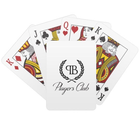 Image of PLAYERS CLUB  Play cards