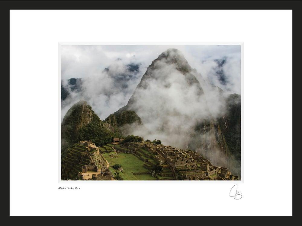 Image of Machu Pichu, Peru