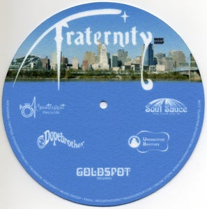 "Image of Fraternity Music Group 7"" Slipmat (Single Unit)"