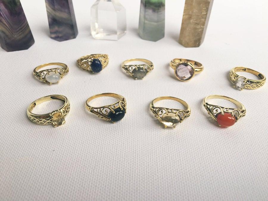 Image of SMALL WONDERS • Crystal Rings