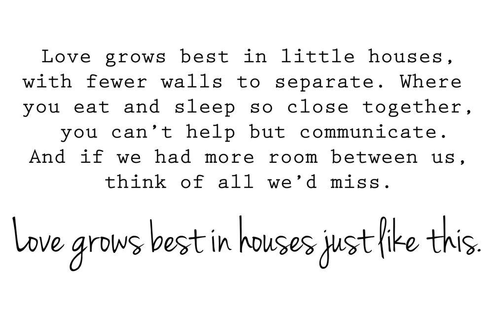 Image of Tiny Houses Print