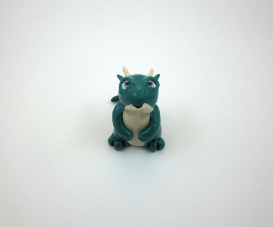 Image of Green Itty-Bitty Dragon