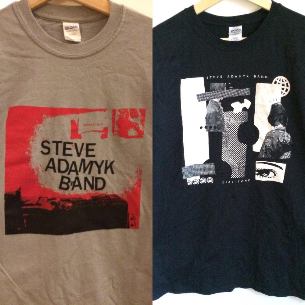 Image of Steve Adamyk Band - NEW SHIRTS