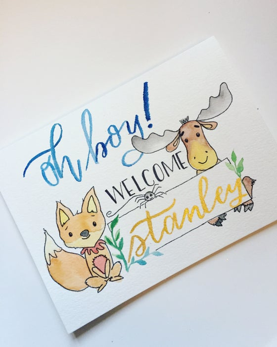 Image of Customized Greeting Cards