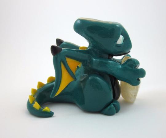 Image of Dark Green Dragon