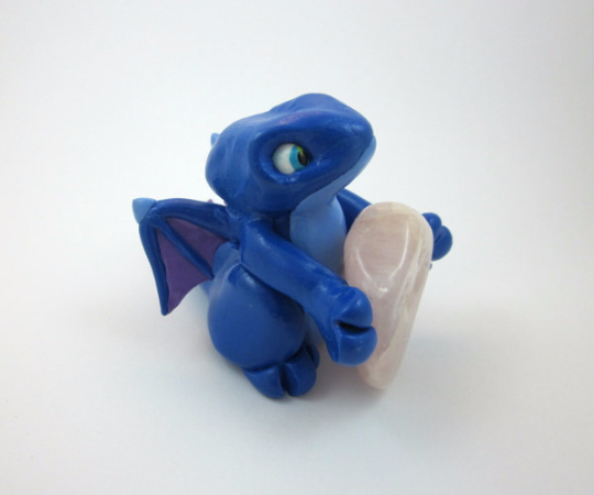 Image of Dark Blue Dragon