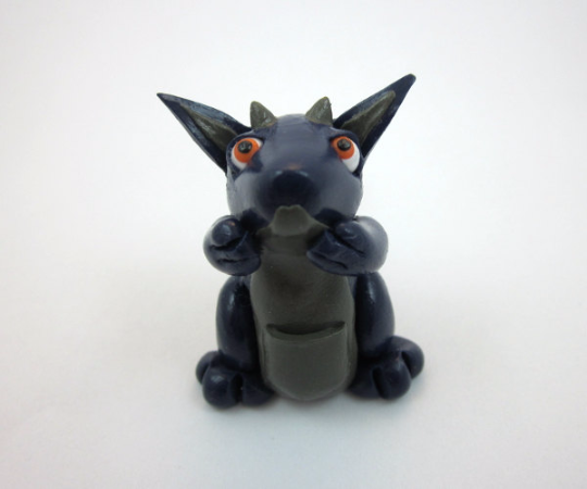 Image of Blue Itty-Bitty Dragon